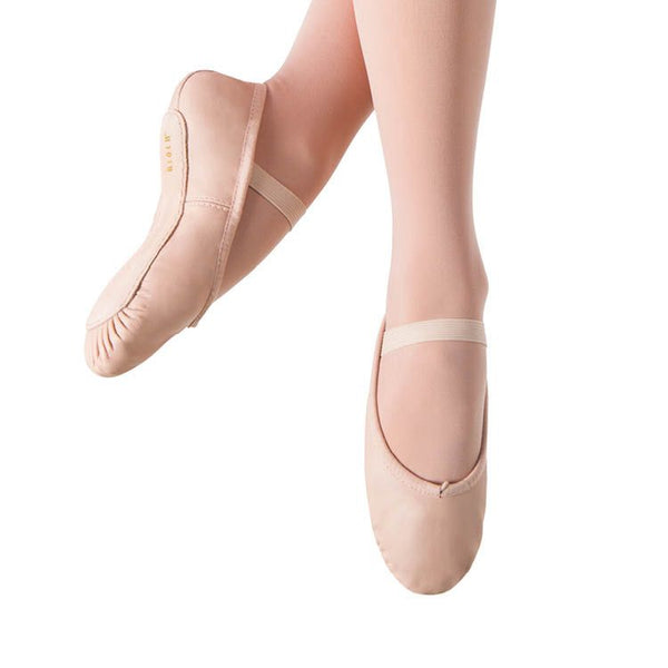 Bloch Dansoft Pink Girls' Leather Ballet Slipper
