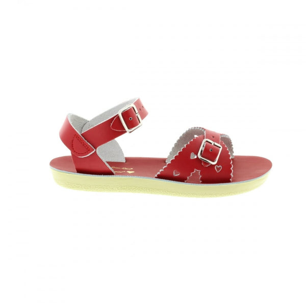 Saltwater Sandals Red Sweetheart Sandals