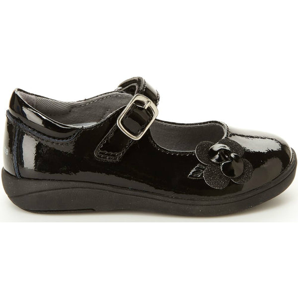 Stride Rite Black Patent Ava Mary Jane