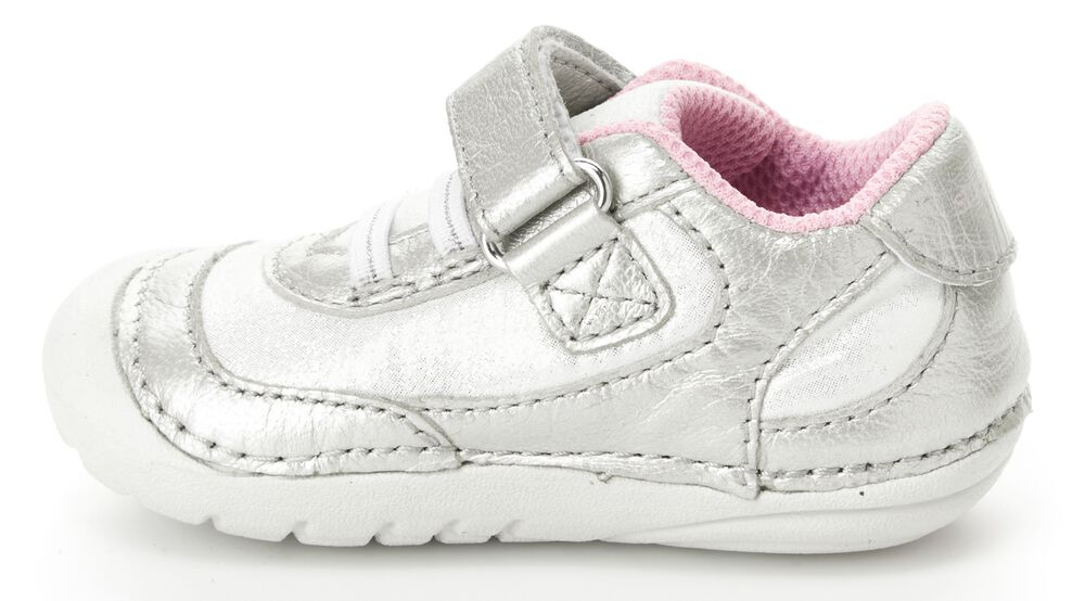 Stride Rite Champagne Jazzy Soft Motion Baby/Toddler Sneaker