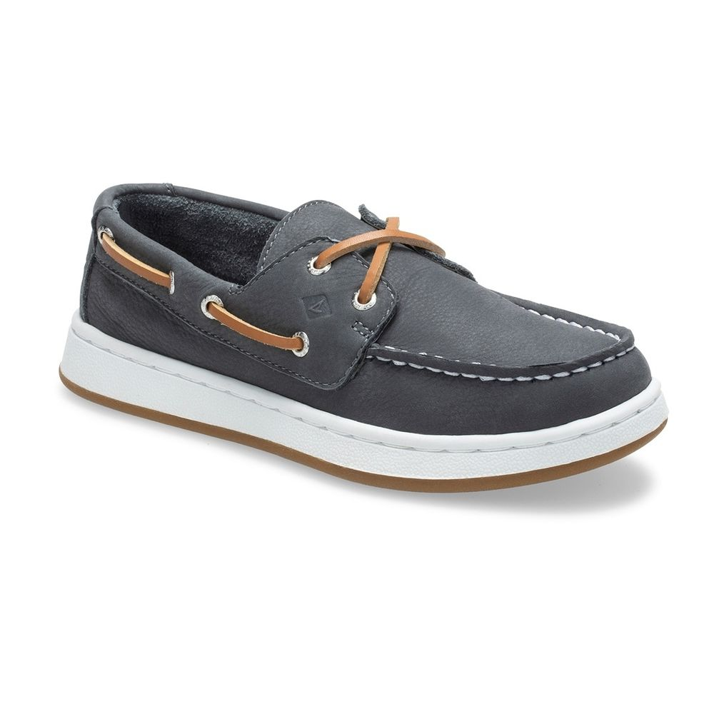 Sperry Grey Cup II Youth Boat Shoe
