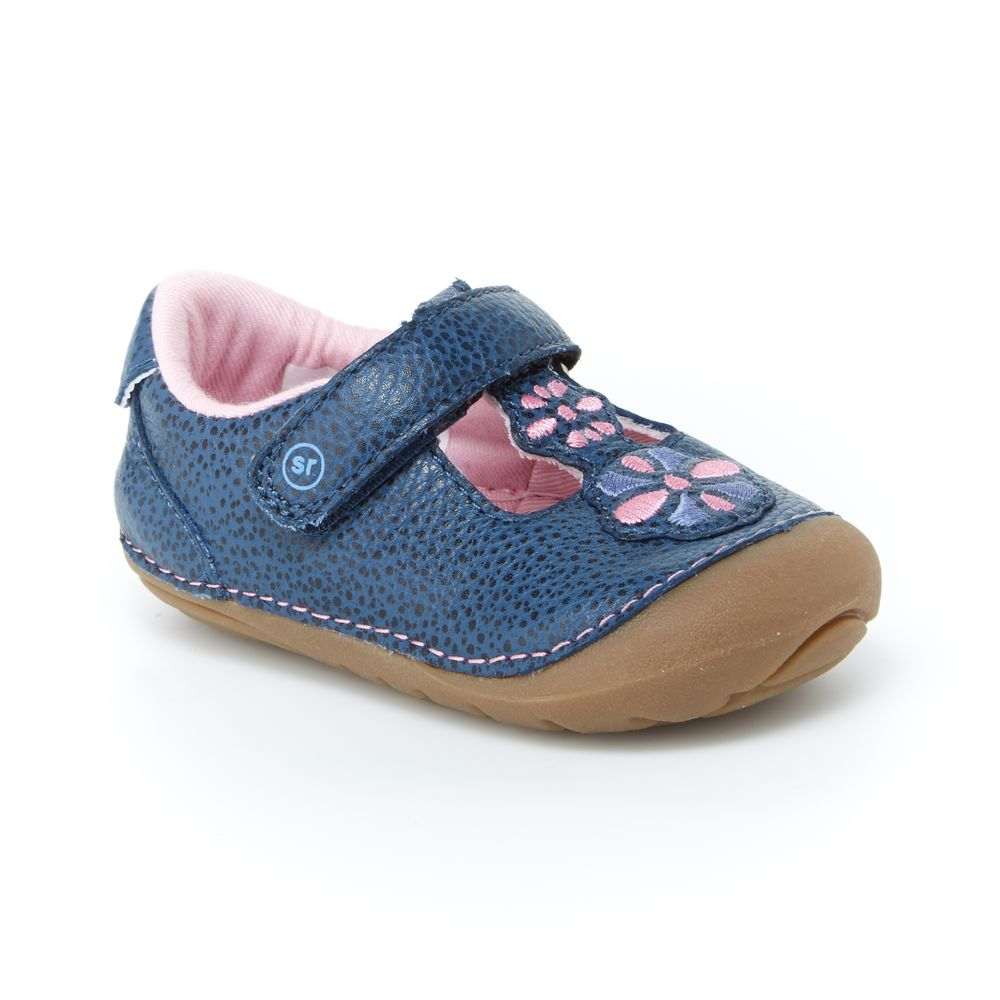 Stride Rite Navy Kelly Soft Motion Baby/Toddler Shoe