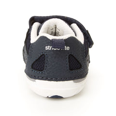 Stride Rite Navy/White Jamie Soft Motion Baby/Toddler Sneaker