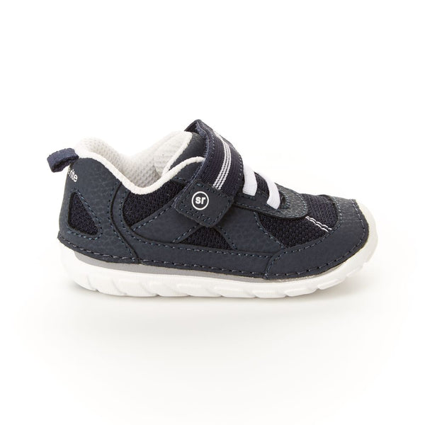 Stride Rite Navy/White Jamie Soft Motion Sneaker