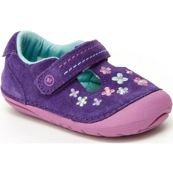 Stride Rite Purple Tonia Soft Motion Shoe