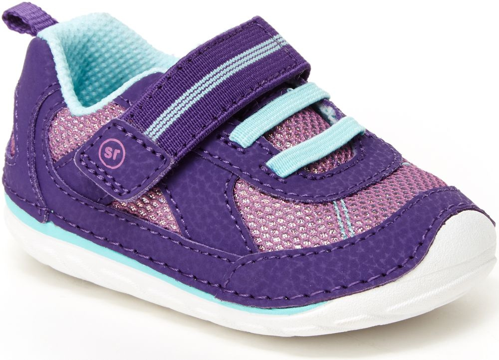 Stride Rite Purple Jamie Soft Motion Baby/Toddler Sneaker