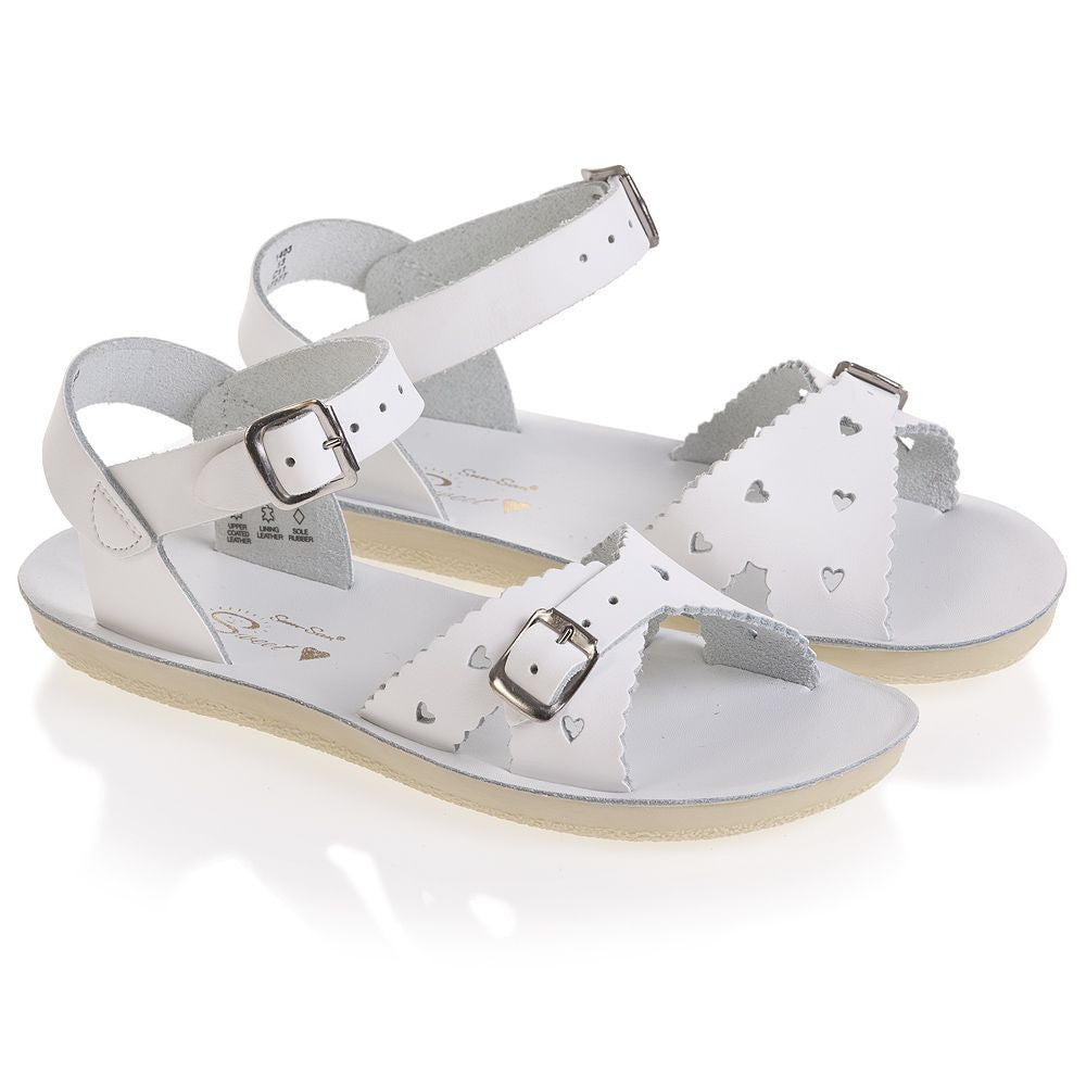 Salt Water Sandals White Sweetheart Toddler/Children's Sandal