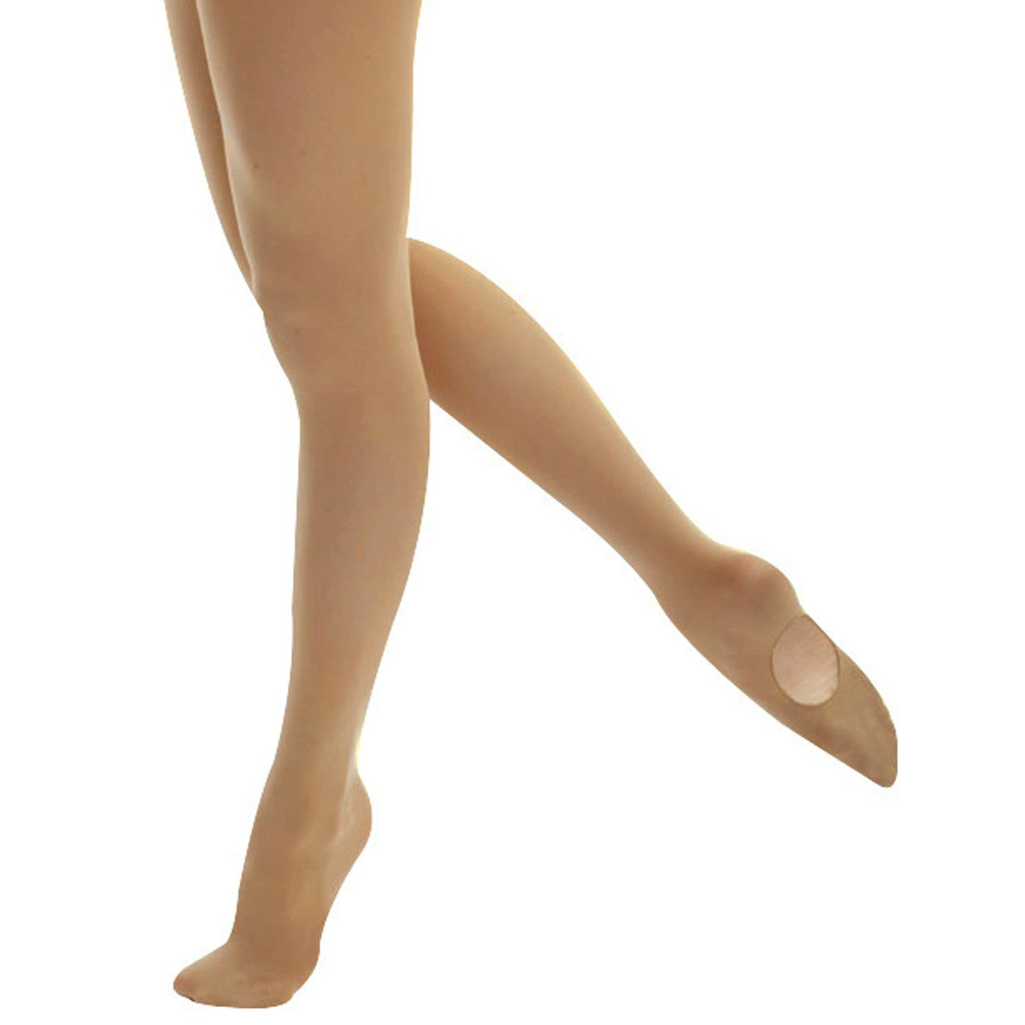 Mondor Adult Light Tan Durable Convertible Tights