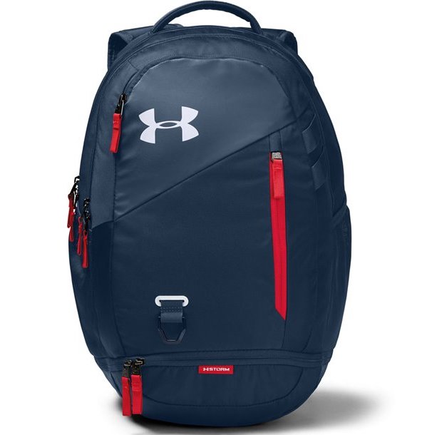Under Armour Academy/White Hustle 4.0 Backpack