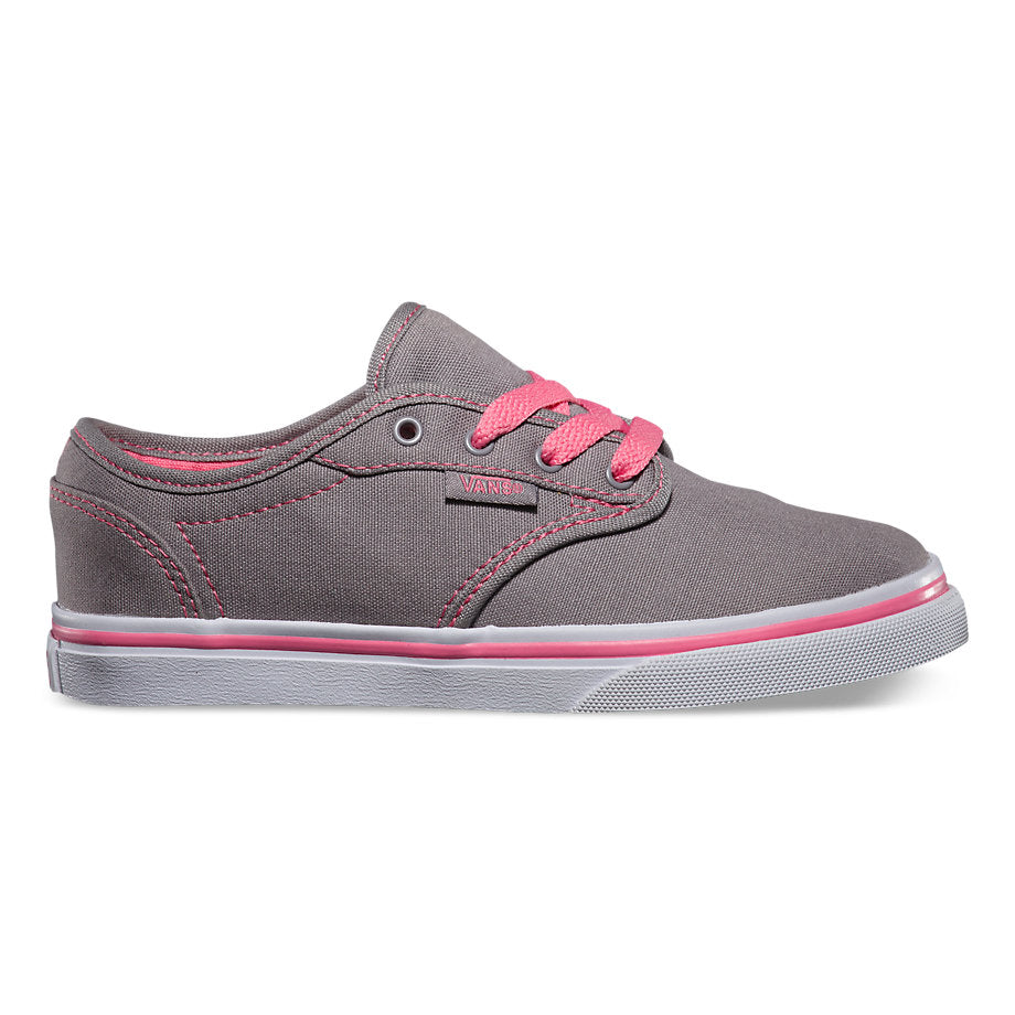 VANS Grey Low Atwood Sneaker