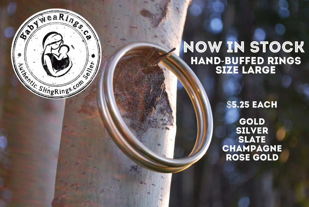 Now In Stock - Hand-Buffed Rings