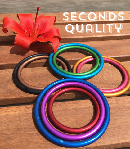 Aluminum Sling Rings [Individual units, Seconds Quality]