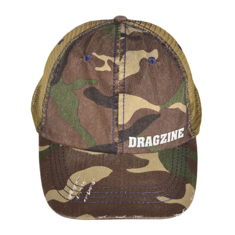 Dragzine Camo Cap, Low Profile