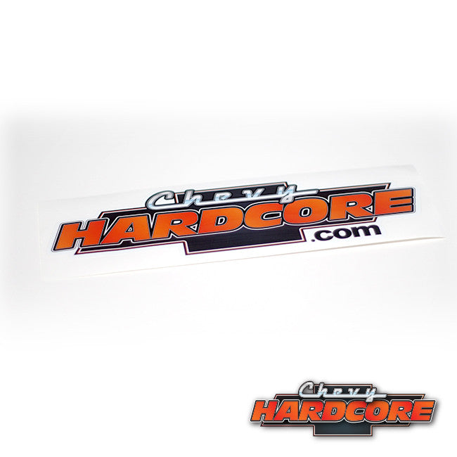 Chevy Hardcore Sticker - Large
