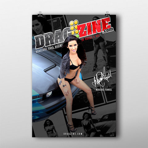 Dragzine - Jared Johnson / Mercedes Terrell (Dual Sided)