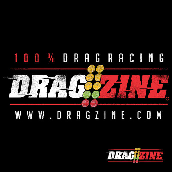 Dragzine.com 100% Drag Racing Tee, Black