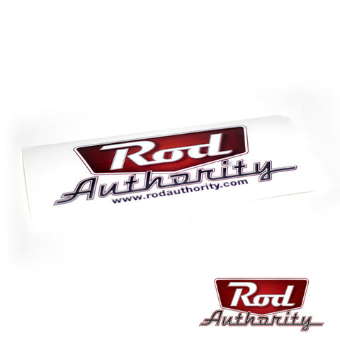 Rod Authority Sticker - Large