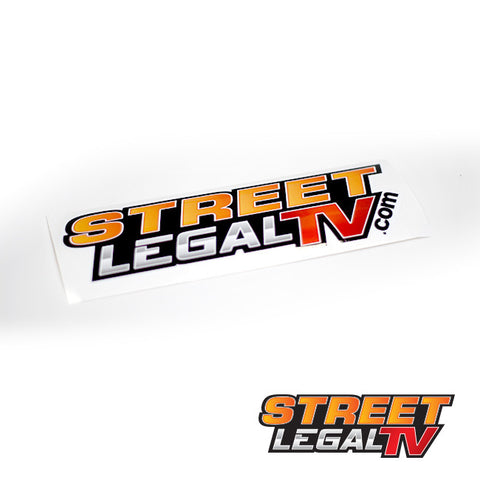 Street Legal TV Sticker - Large
