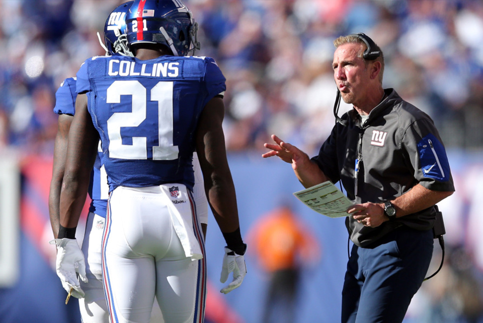 Steve Spagnuolo has 'no regrets' about playing Landon Collins | Landon Collins