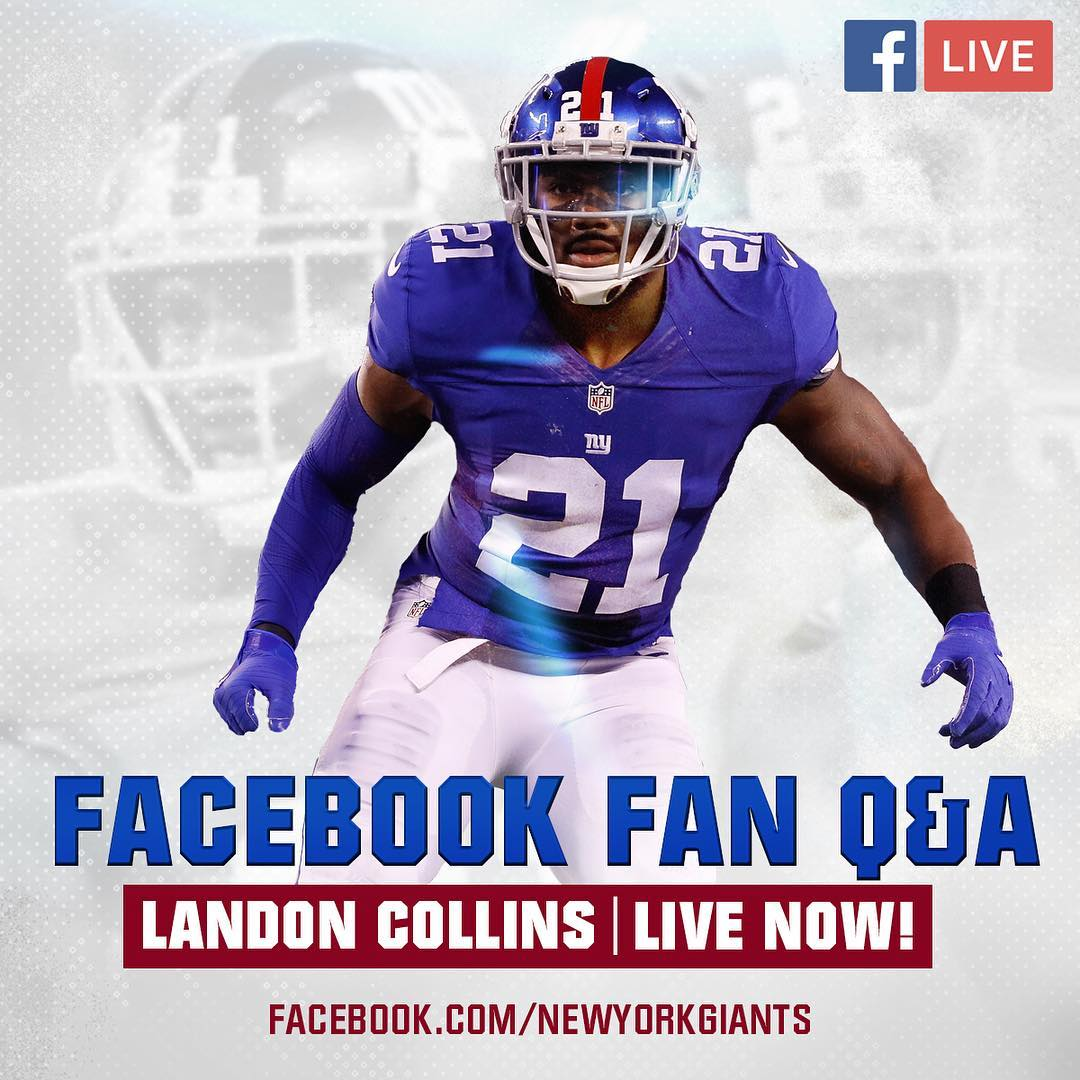 My Facebook Live Q&A | Landon Collins