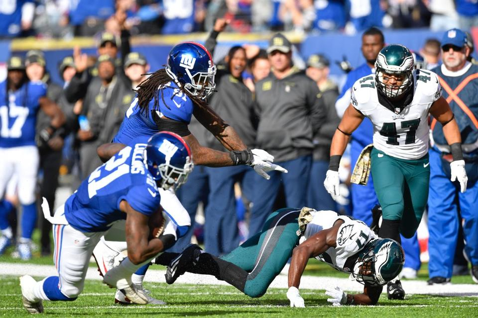 Landon Collins had another strong game on Sunday | Landon Collins