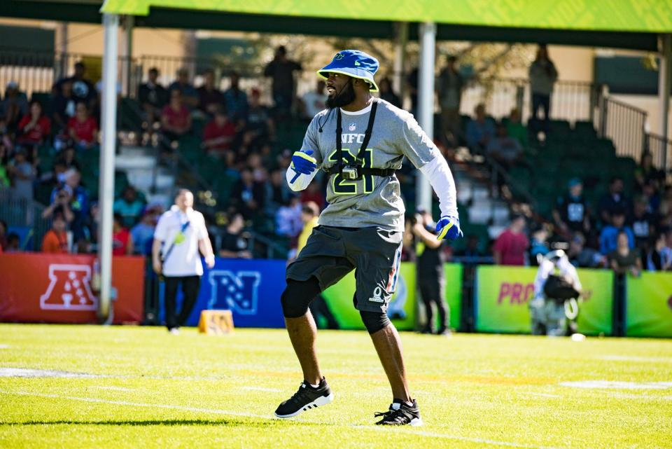 Pro Bowl Practice From My Point of View | Landon Collins