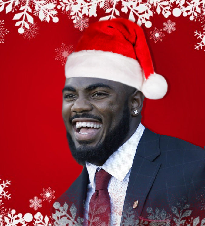 Landon Collins Makes Holiday Wishes Come True | Landon Collins
