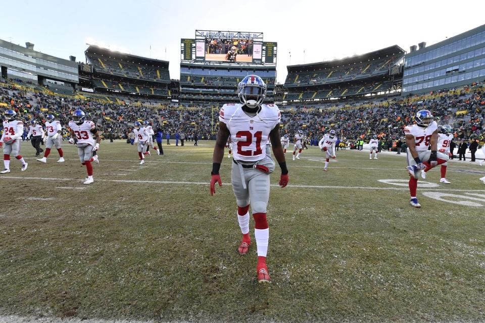Packers Offense Proves a Formidable Foe Against Giants Defense | Landon Collins