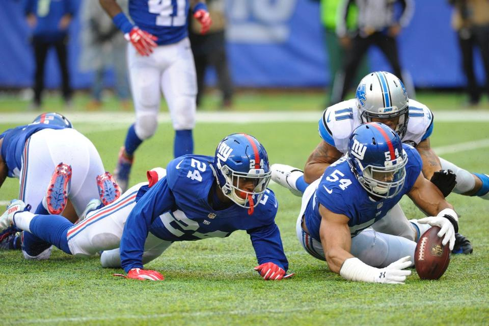 Giants Defense Too Dominant for Lions | Landon Collins