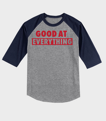 Good At Everything Raglan Jersey | Landon Collins