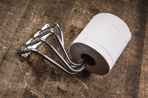 Head-Headers: Ford Toilet Paper Holder