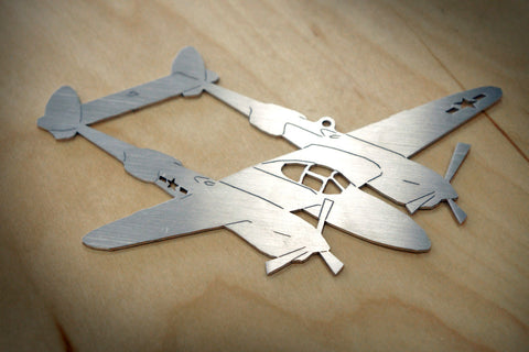 Lockheed P-38 Lightning Ornament