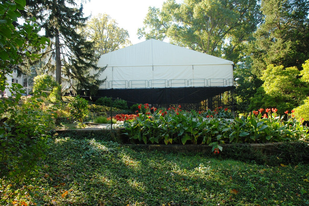 Clearspan White Frame Tent 66'