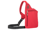Red washable neoprene purse