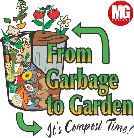 Composting at Home, Managing Kitchen Waste, mahagro, organic fertilizer, organic potting mix, bio fertilizer, mahagro india,