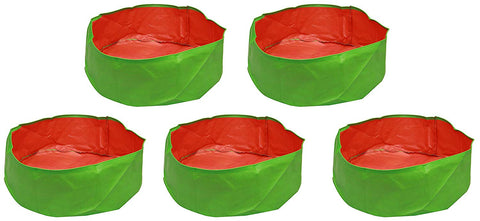 "Grow bags- 24"" x 09"" - Premium Quality HDPE- Pack of 5"