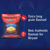 Kohinoor Royale Authentic Biryani Basmati Rice- 5Kg