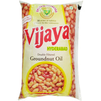 Vijaya Cooking Oil - Groundnut, 1L Pack