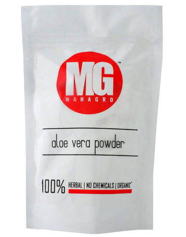 Aloe Vera Powder- Herbal, Organic & No Chemicals- MahaGro- 200g (Pack Of 5) - MahaGro™