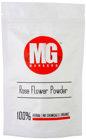 Rose Flower Powder- Herbal, Organic & No Chemicals-MahaGro- 200g - MahaGro™
