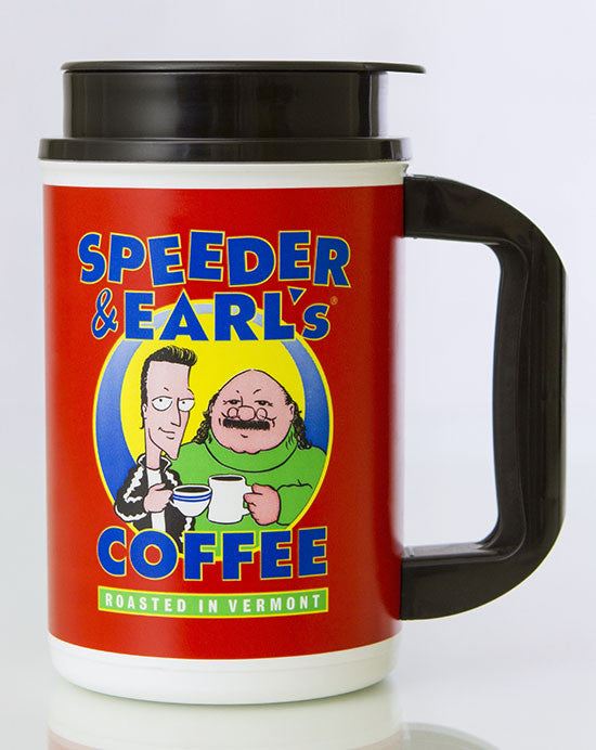 Speeder & Earl's 20oz Travel Mug