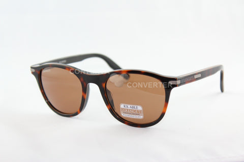 Andrea Shiny Dark Tortoise / Black Polarized Drivers