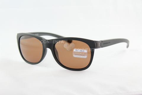 Scala Sanded Black / Satin Dark Gunmetal Polarized Drivers