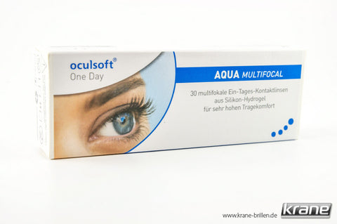 Oculsoft One Day Aqua »MULTIFOCAL« Tageslinsen