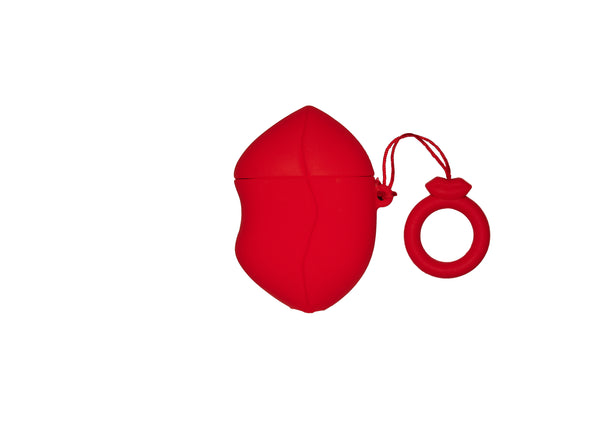 KISS MY PODS AIRPOD CASE - RED