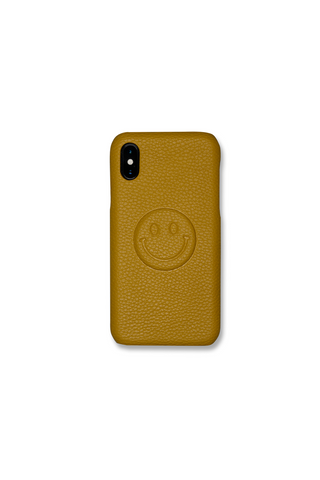 BE HAPPY PHONE CASE - YELLOW