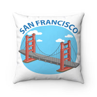San Francisco, Golden Gate Bridge Souvenir Pillow