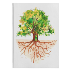 A Strong Tree Blank Lined Journal for your notes, thoughts and sketches.