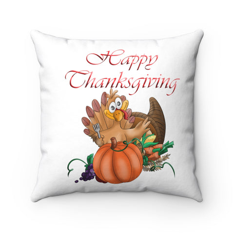 Happy Thanksgiving Pillow