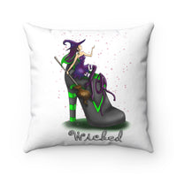 Halloween Witch Pillow